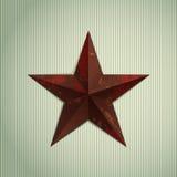 Звезда Grunge Стоковое Изображение