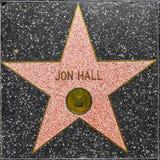 Звезда ` s Джна Hall на прогулке Голливуда славы Стоковые Изображения