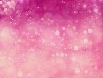 Звезд предпосылки влюбленности нерезкости абстрактных сияющих красочные Стоковое Изображение RF