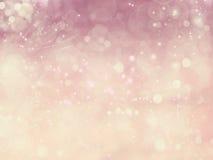 Звезд предпосылки влюбленности нерезкости абстрактных сияющих красочные Стоковые Изображения