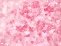 Звезд предпосылки влюбленности нерезкости абстрактных сияющих красочные Стоковые Фотографии RF