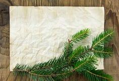 звезды абстрактной картины конструкции украшения рождества предпосылки темной красные белые Пустой старый бумажный лист с Стоковое фото RF