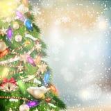 звезды абстрактной картины конструкции украшения рождества предпосылки темной красные белые 10 eps Стоковое Изображение RF