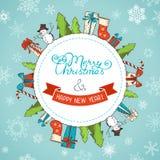 звезды абстрактной картины конструкции украшения рождества предпосылки темной красные белые бесплатная иллюстрация