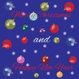 звезды абстрактной картины конструкции украшения рождества предпосылки темной красные белые Стоковое Фото