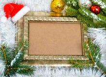 звезды абстрактной картины конструкции украшения рождества предпосылки темной красные белые Хворостина сосны с серпентином Стоковые Изображения RF
