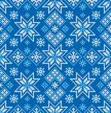 звезды абстрактной картины конструкции украшения рождества предпосылки темной красные белые Зима Стоковая Фотография RF