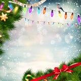 звезды абстрактной картины конструкции украшения рождества предпосылки темной красные белые 10 eps Стоковые Фотографии RF