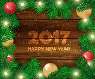 звезды абстрактной картины конструкции украшения рождества предпосылки темной красные белые счастливое Новый Год также вектор илл Стоковое Изображение