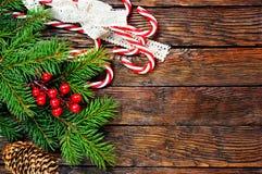 звезды абстрактной картины конструкции украшения рождества предпосылки темной красные белые Стоковые Изображения