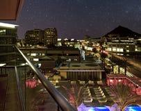 Звезды вечера пустыни Стоковое Изображение