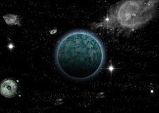 Звезды в фантазии Стоковые Фото