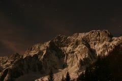 Звезды в черном небе Стоковые Фото
