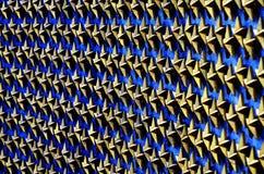 Звезды золота на памятнике войны Стоковые Изображения RF