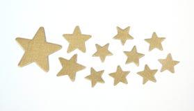 Звезды золота Стоковая Фотография RF