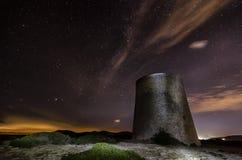 Звезды и башня Стоковое Фото