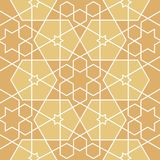 Звезды и картина полигонов геометрическая Стоковая Фотография