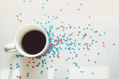 Звезды и кофе Стоковое фото RF