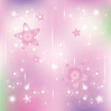 Звезды и частицы Стоковые Фото