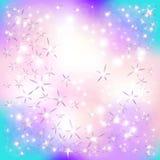 Звезды и частицы Стоковое Изображение RF