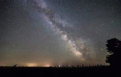 Звезды млечного пути стоковое изображение rf