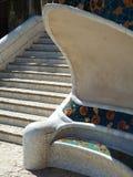 Звезды на парке Guell Стоковые Изображения RF