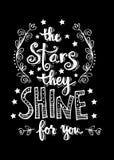 Звезды они светят для вас Стоковая Фотография