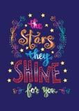 Звезды они светят для вас Стоковое Изображение RF
