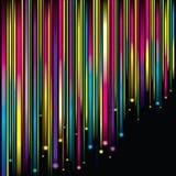 звезды предпосылки падая волшебные Стоковое Изображение RF