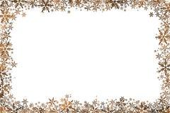 Звезды предпосылки рождества на белизне Стоковые Изображения