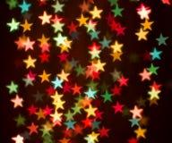 звезды предпосылки цветастые Стоковая Фотография