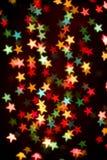 звезды предпосылки цветастые Стоковые Изображения
