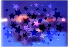 звезды предпосылки яркие Стоковое фото RF