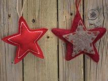 Звезды рождества войлока Стоковые Фотографии RF