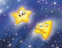 звезды семьи Стоковое фото RF