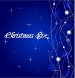 звезды снежинок рождества предпосылки Стоковая Фотография RF