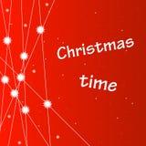 звезды снежинок рождества предпосылки Стоковые Фотографии RF