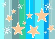 Звезды украшения Стоковое Изображение