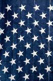 Звезды флага США вися вертикально Стоковые Изображения