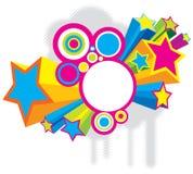 звезды диско Стоковое Изображение