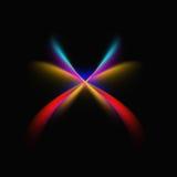2 звезды Ilustration Стоковая Фотография RF