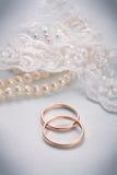 звените венчание стоковое изображение rf