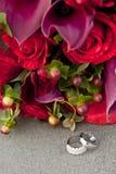 звенит розы Стоковое фото RF