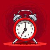 Звеня винтажный будильник Стоковая Фотография