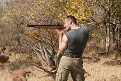 звероловство охотника Стоковое фото RF