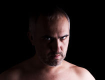 зверский человек Стоковое Фото
