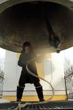 звонарь колокола Стоковые Фотографии RF