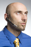 звонить по телефону человека Стоковое Изображение RF