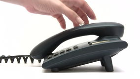 Звонить телефонный звонок сток-видео