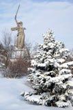 Звонки родины в Волгограде Стоковое фото RF
